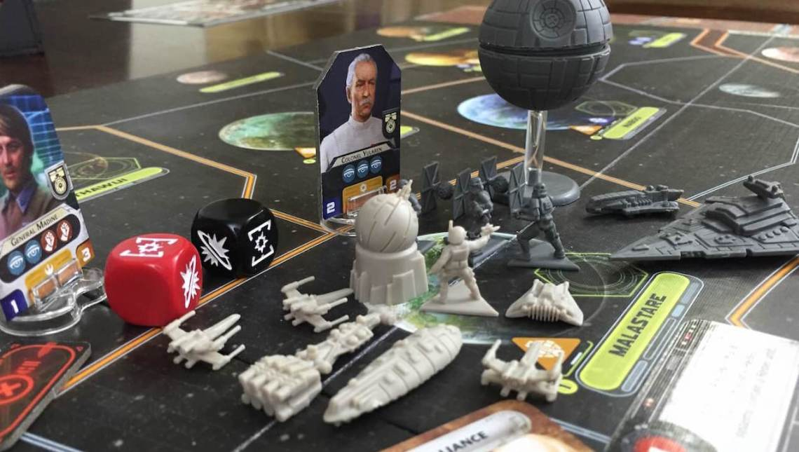 Star Wars Rebellion Combate