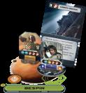 Star Wars Rebellion Líderes y Carta Han Solo y Boba Fett
