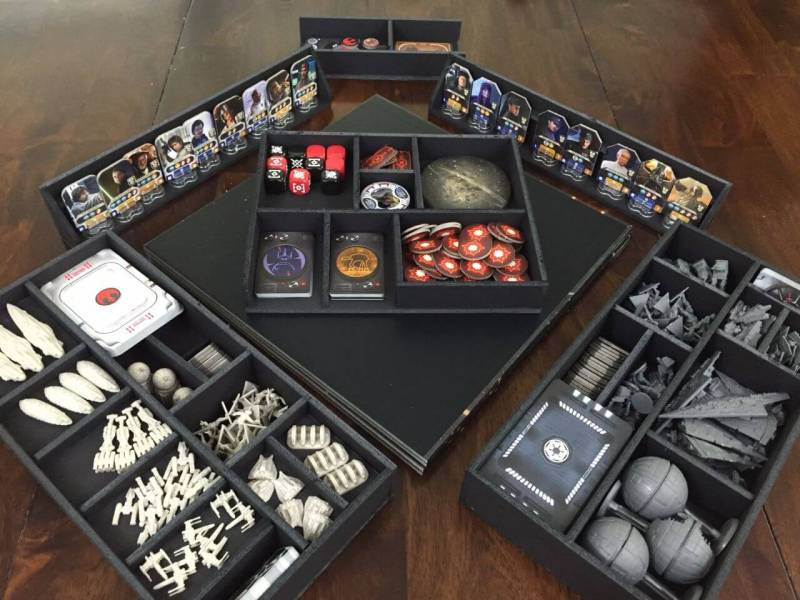 Star Wars Rebellion Unboxing