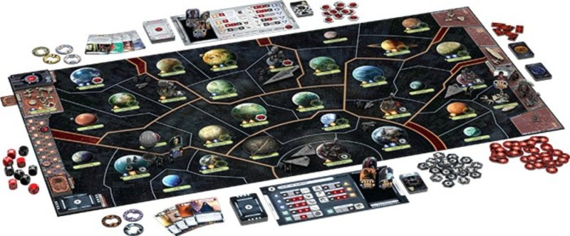 Star Wars Rebellion tablero