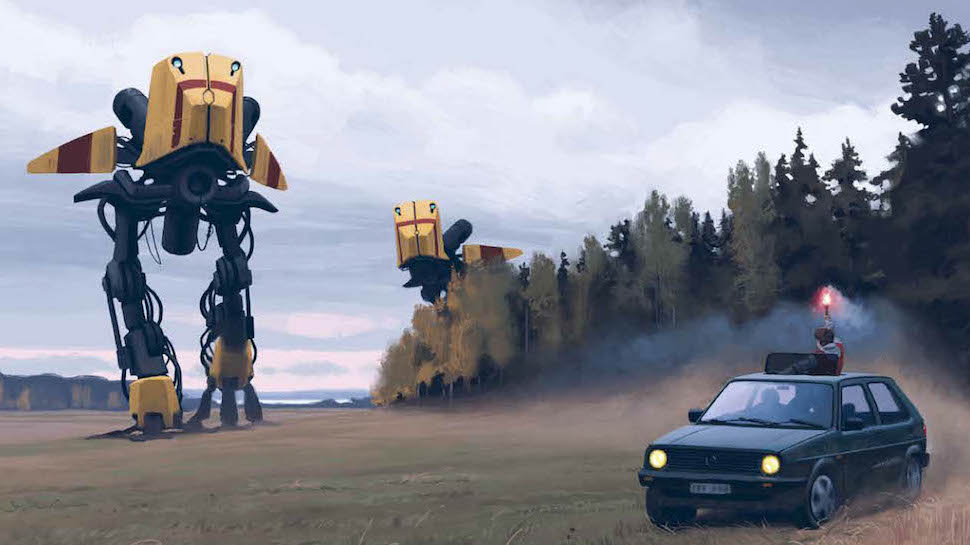 Tales from the Loop Simon Stalenhag 3