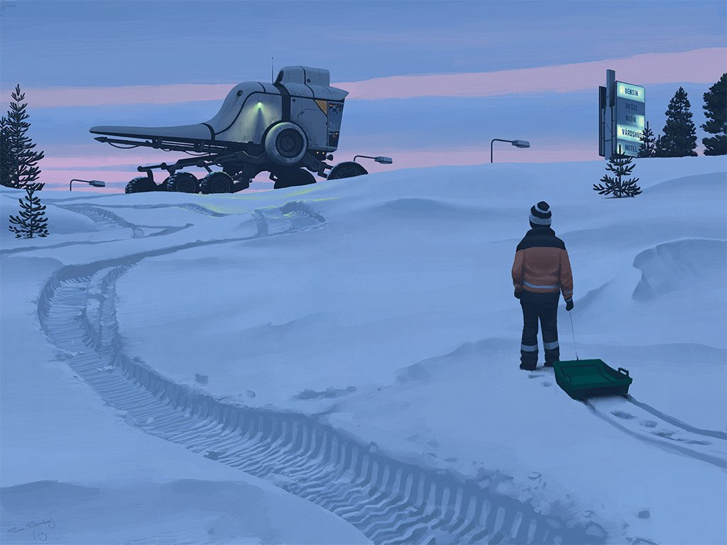 Tales from the Loop Simon Stålenhag 8