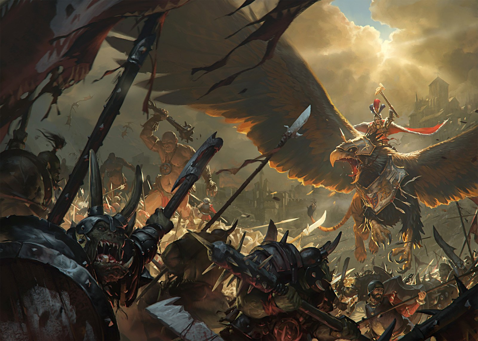 Total War Warhammer cover Sergey Gregchanyuk