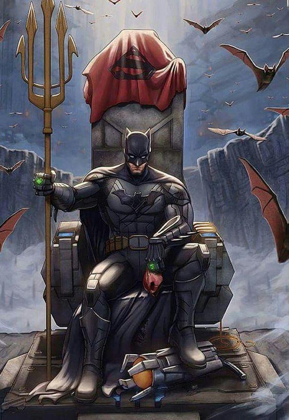 Batman derrota a la liga de la Justicia