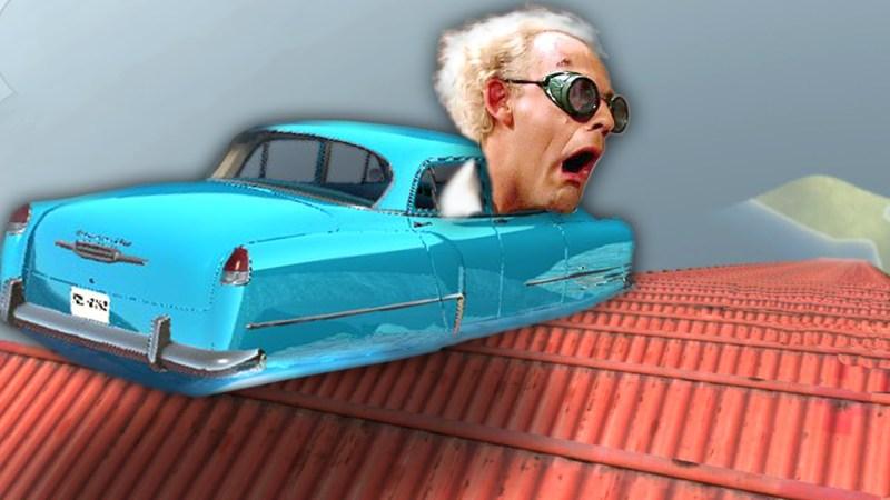 BeamNG Drive Hovercar