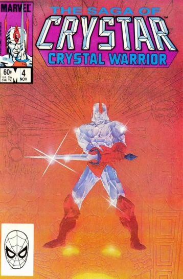 Crystar Portada de Cómic