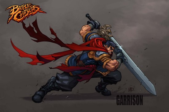 Battle Chasers Nightwar Garrison