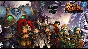 Battle Chasers Nightwar Grupo en fila