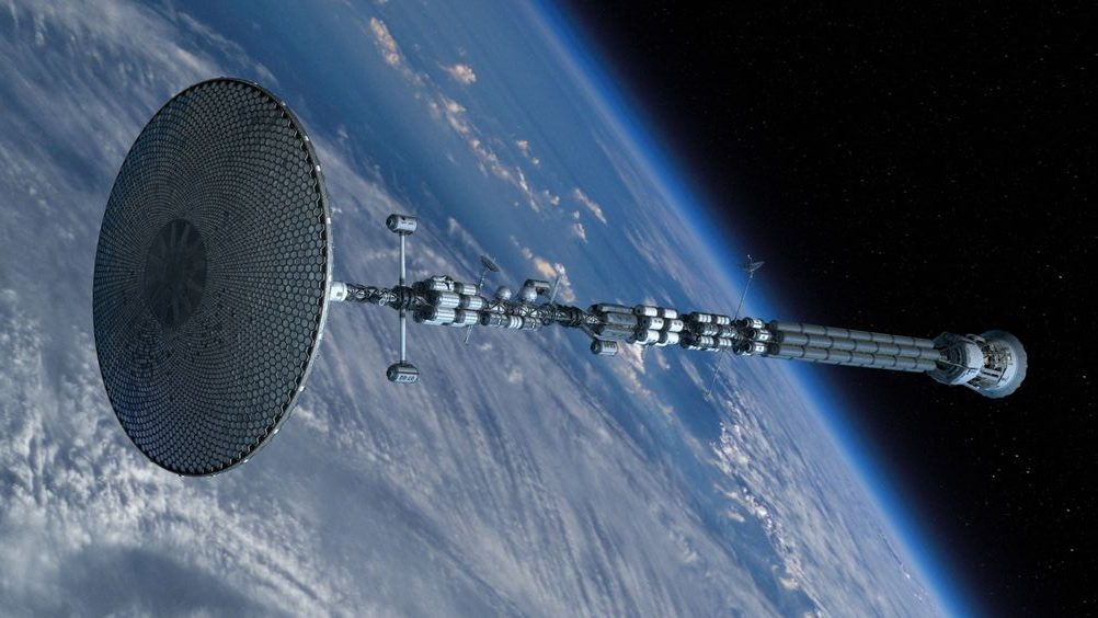 Diseño de nave espacial real- defying gravity