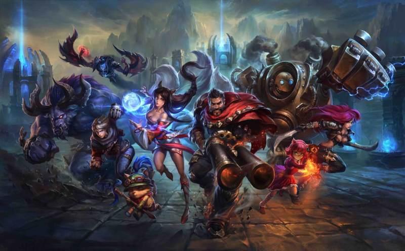 League of Legends es uno de los campeones imbatibles de los juegos online