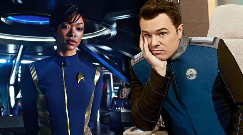 discovery vs the orville