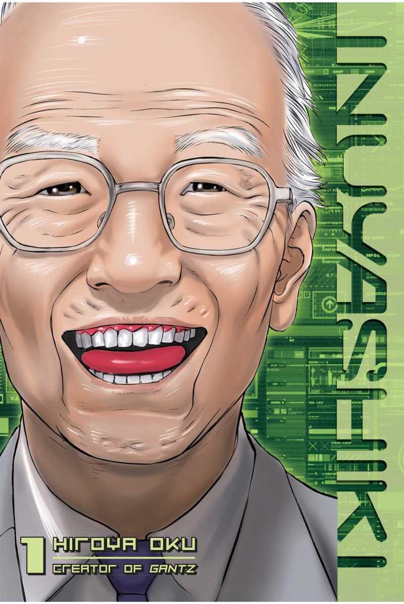 Inuyashiki Manga Portada