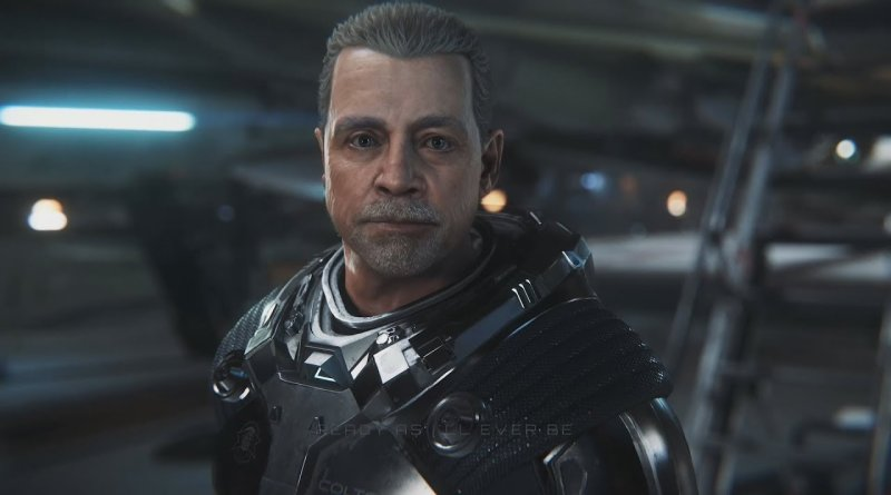 Gameplay de Squadron 42 Pre-Alpha - Mark Hamill