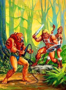 He-Man y los Amos del Universo Combate contra Beast-Man