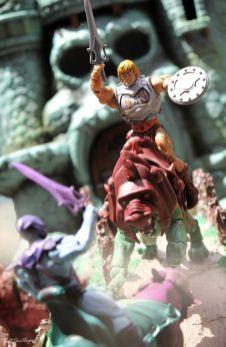 Juguetes de He-Man y los Amos del Universo Maqueta