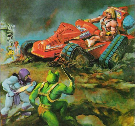 He-Man y los Amos del Universo vehículo 2