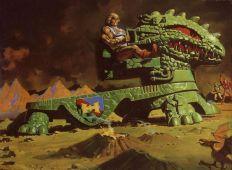 He-Man y los Amos del Universo vehículo 3