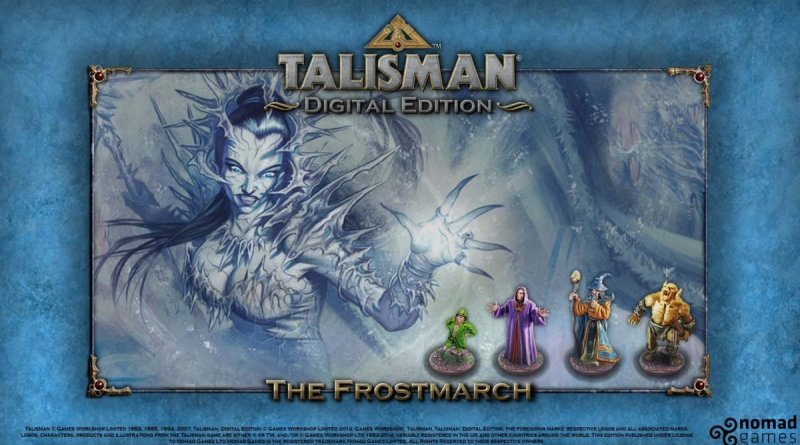 Talisman Digital Edition The Frostmarch Expansion