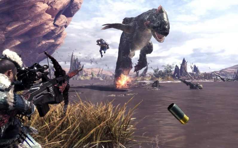 Monster Hunter World Disparos