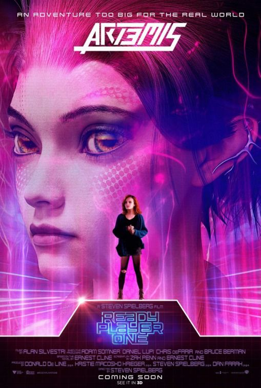 Ready Player ONE Poster Artemis