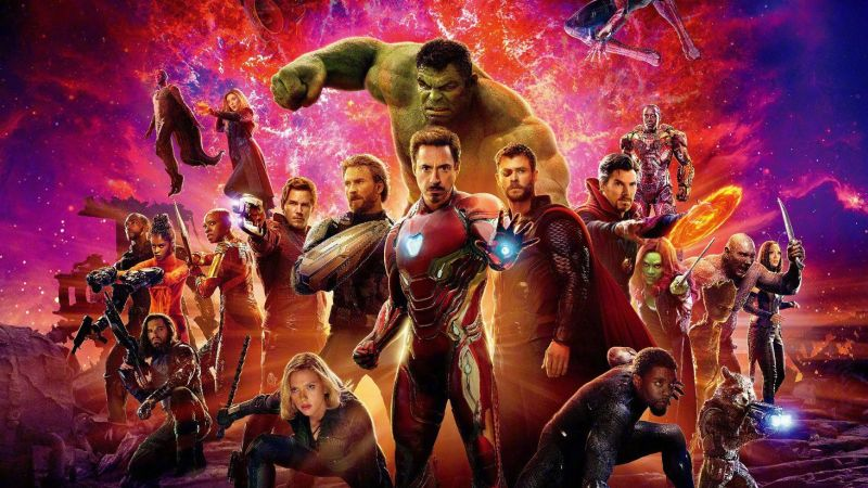 Avengers Infinity Wars Poster 3
