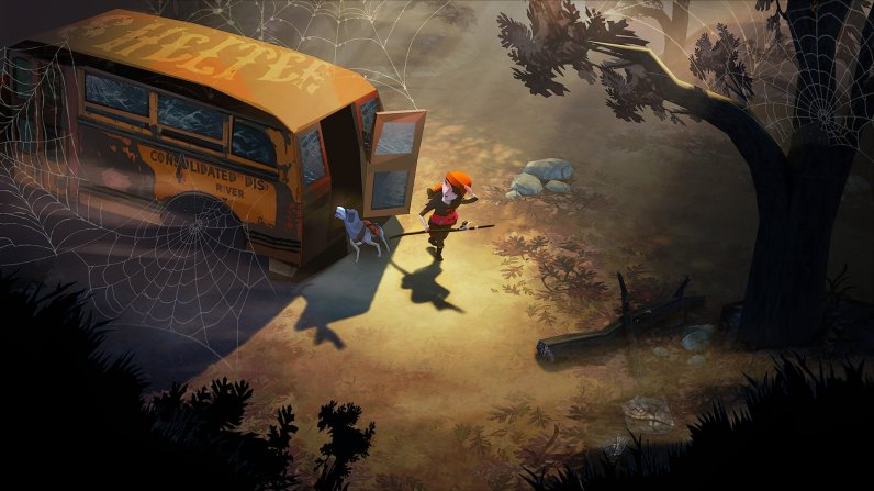 The Flame in the Flood Gameplay en Español Autobus
