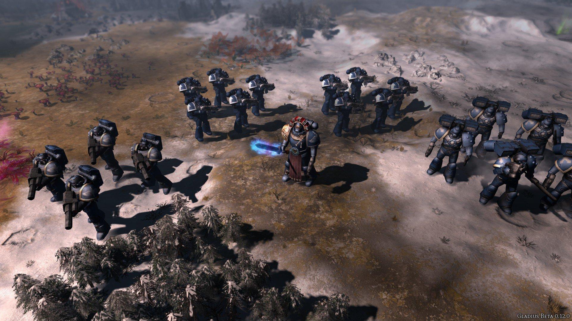 Gladius: Relics of War Gameplay en Español Space Marines