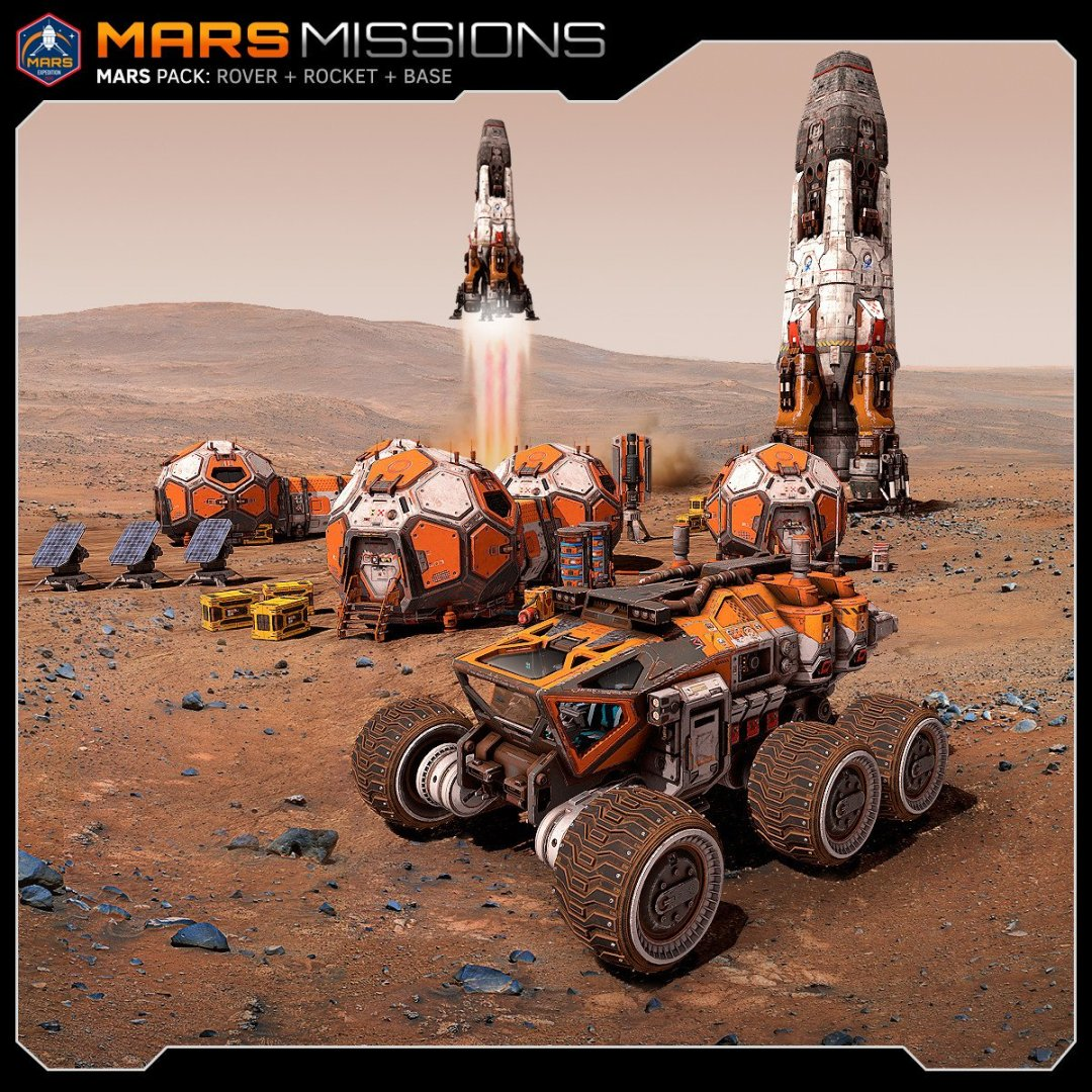Mars Missions Stephane Chasseloup