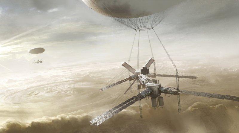 Colonización de Venus Portada