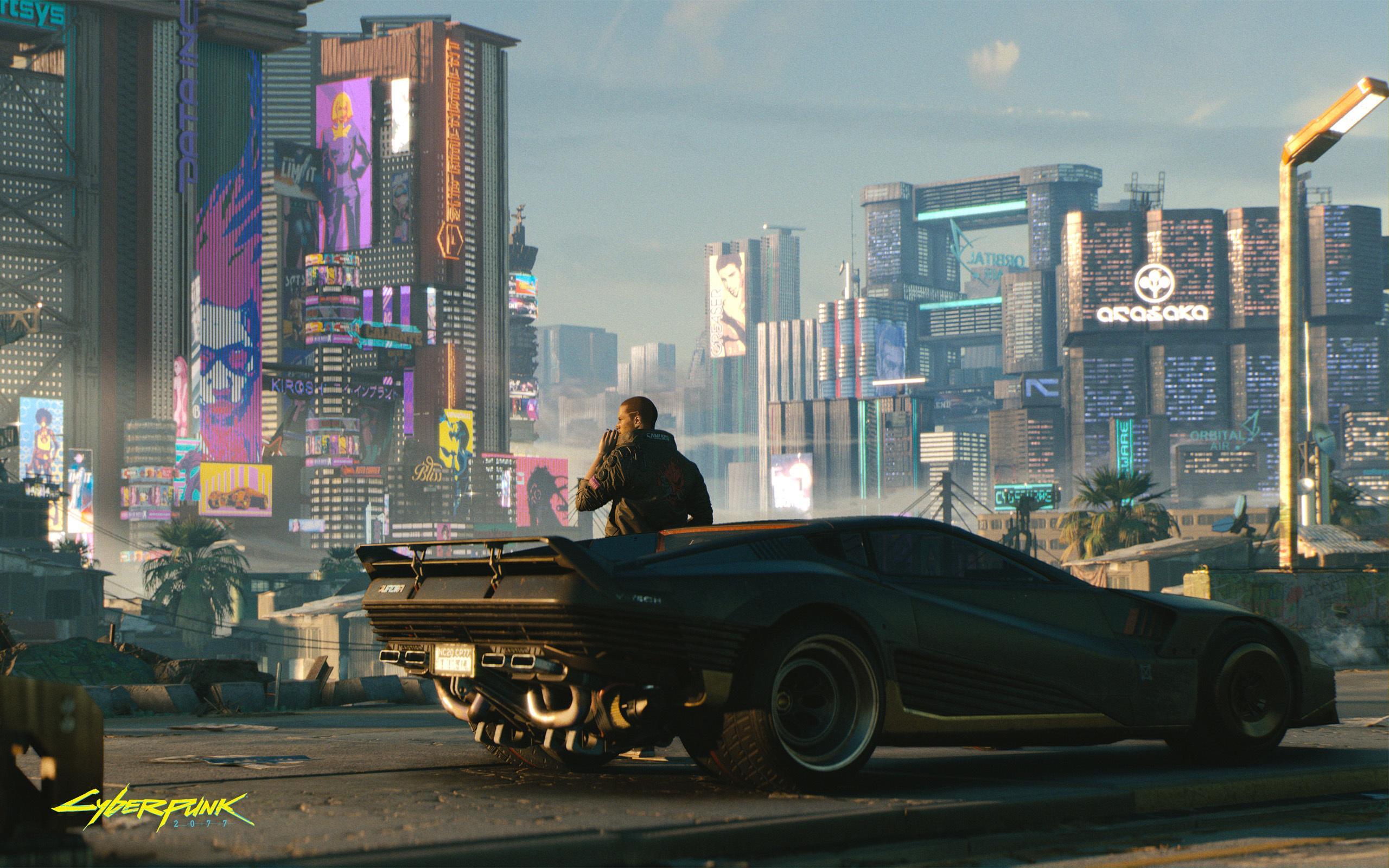 Cyberpunk 2077 48 minutos de Gameplay vehículo