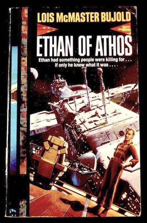 Ethan de Athos Portada