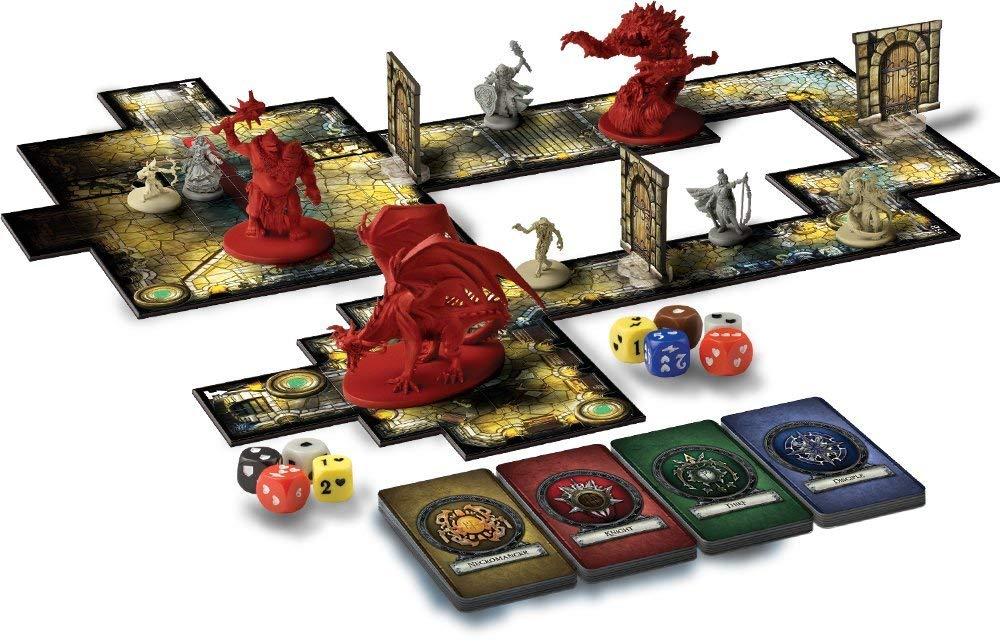 Los Mejores Juegos de Miniaturas de Ciencia Ficción y Fantasía Descent Journeys in the Dark