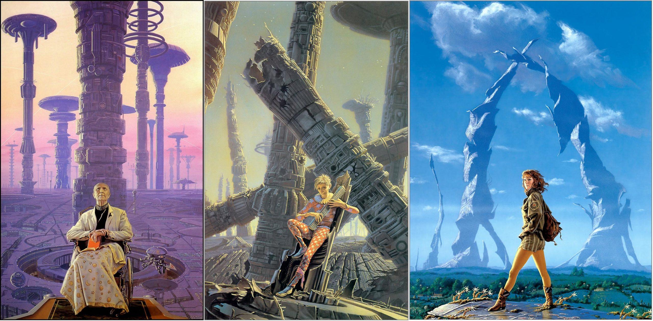 Michael Whelan Asimov Trilogy