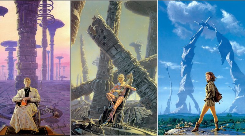 Michael Whelan Asimov Trilogy