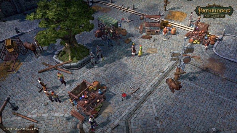 Pathfinder Kingmaker Gameplay Ciudad