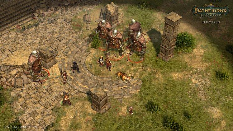 Pathfinder Kingmaker Gameplay Combate