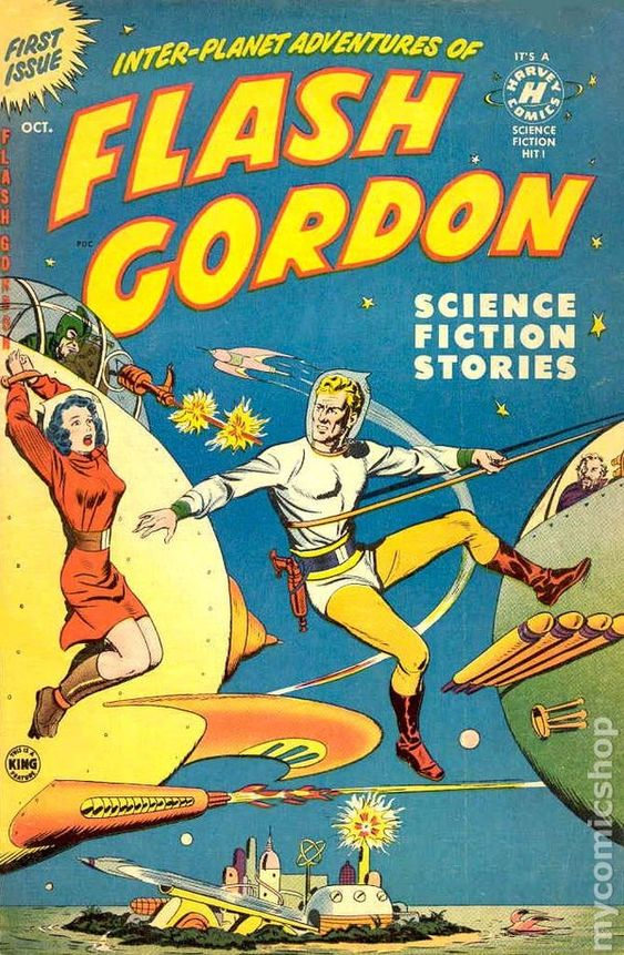 Portada de Flash Gordon