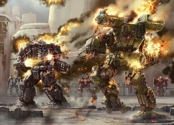 Battletech Ruinas