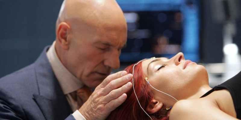 Charles Xavier y Jean Grey