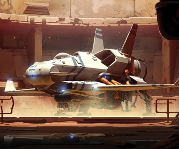 Rebel Galaxy Outlaw Fighter
