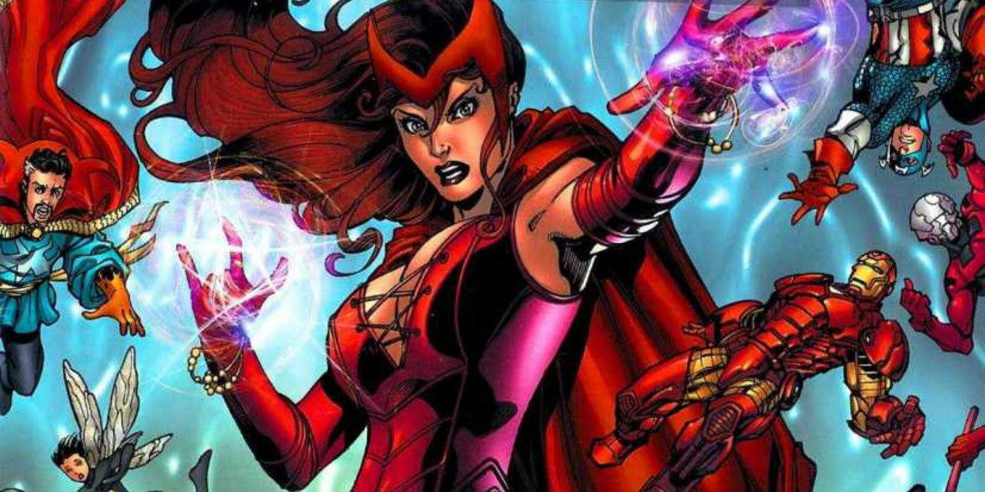 Scarlett Witch Wanda Maximoff