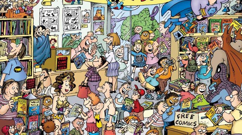 1000+ Comics y Manga Gratis - free Comic Book Day Portada