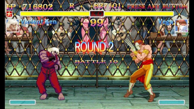Nostalgia por los arcade Street Fighter
