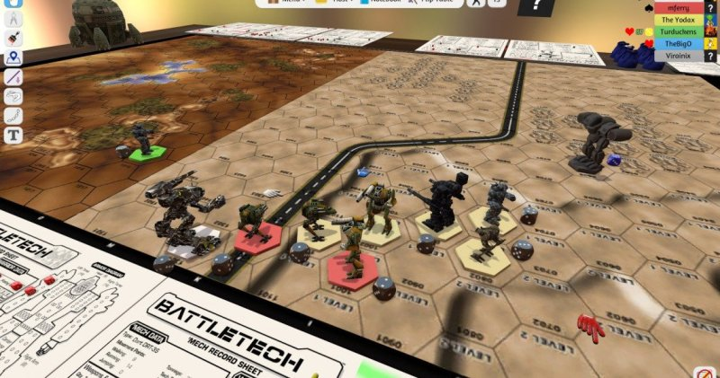 Tabletop Simulator Battletech