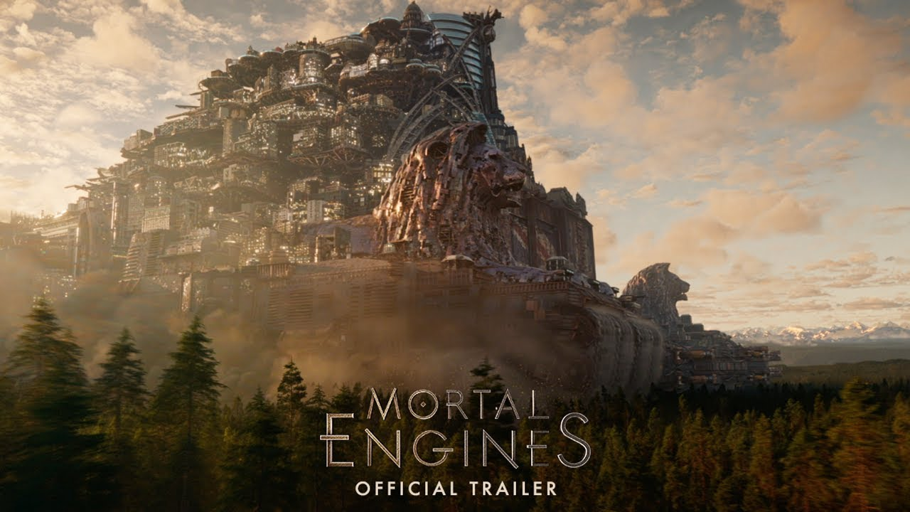 Trailers de Mortal Engines