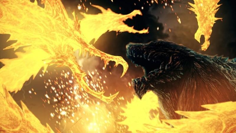 Godzilla Planet Eater Godzilla vs Ghidorah