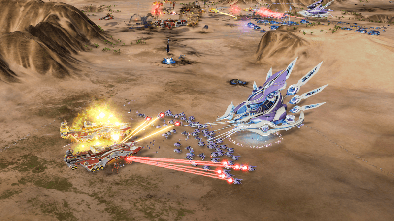 Ashes of the Singularity Escalation combate