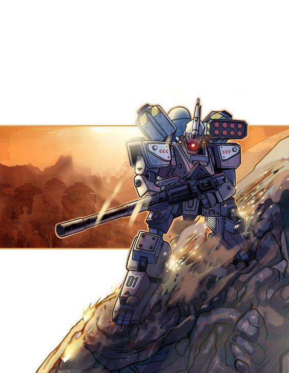 Heavy Gear Blitz Art