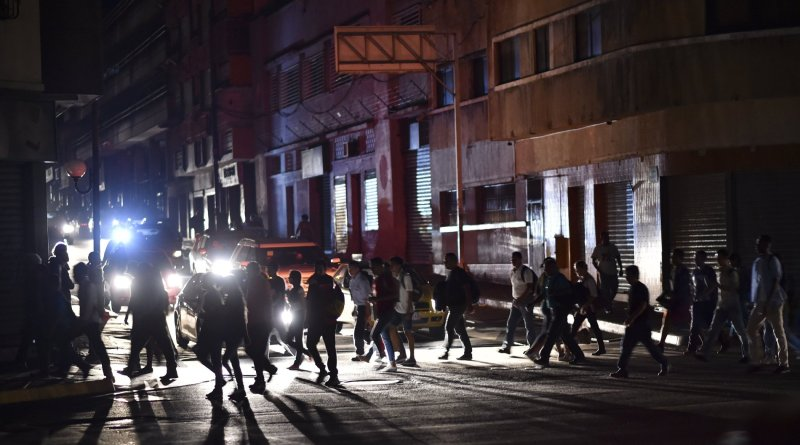 Apagón de más de 90 Horas en Venezuela