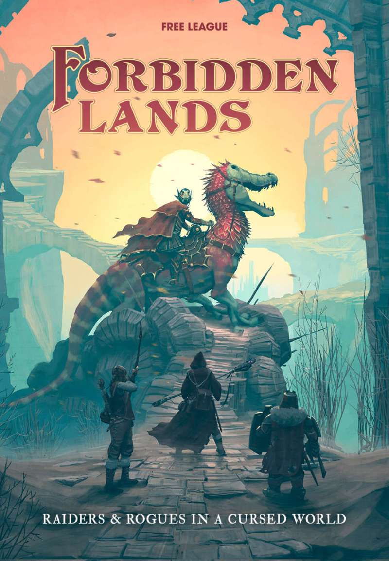 Forbidden Lands - Los Mejores Juegos de Rol del 2018
